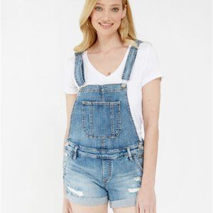 SILVER JEANS CO overall shorts sjl266